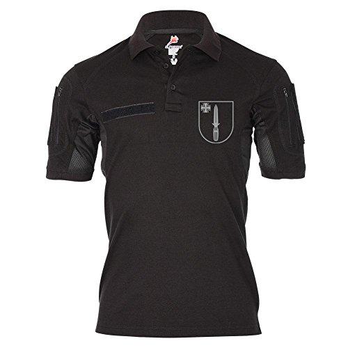 Tactical Poloshirt Alfa SEK Sondereinsatzkommando Polizei BW Einsatz Abzeichen Emblem Dienst Hemd Polo #19488, Größe:L, Farbe:Schwarz