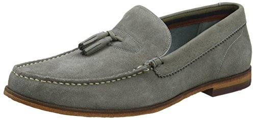 Ted Baker Dougge 2, Mocassini Uomo Grigio (Light Grey #808080)