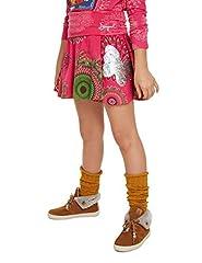 Idea Regalo - Desigual Skirt Galactic Gonna, Rosa (Fuchsia Rose 3022), 10 Anni Bambina