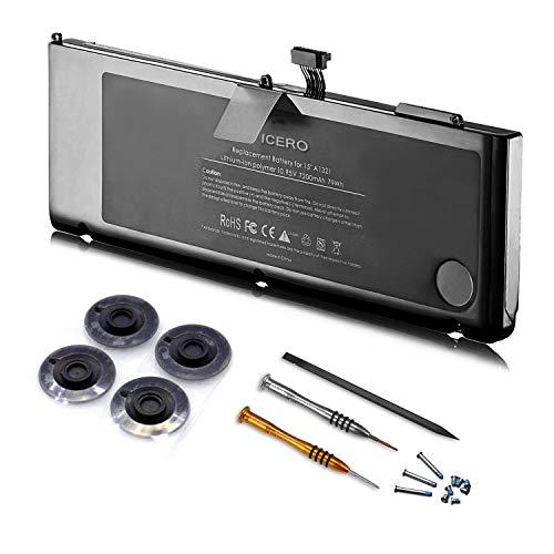 ICERO 7200mAh Di alta qualità sostituzione della Batteria del computer portatile per Apple MacBook Pro 15
