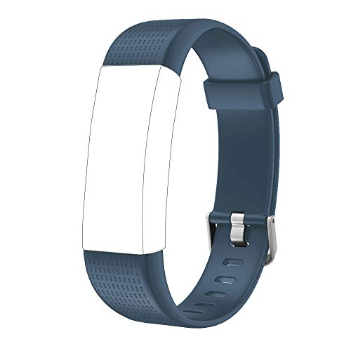 Willful Ersatz Armband für Fitness Tracker ID130Plus Color HR (Grau)