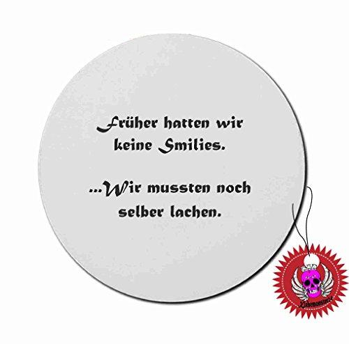 Tapis-de-souris-rond-3-mm-avec-motif-imprim-Inscription-en-allemand-nous-navons-pass-Smiley-selber-rire-Imprim-tapis-de-souris-avec-dessous-en-caoutchouc-pour-le-bureau-et-gamer