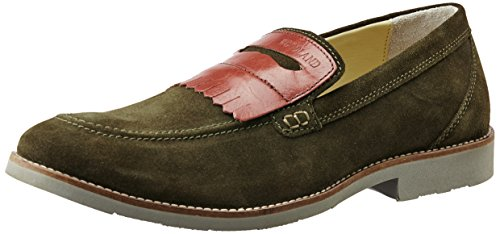 Woodland Men's Olive Green Leather Formal Shoes – 8 UK/India (42 EU) 41nkP3MSqiL
