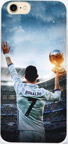 TN CASES STORE Coque iPhone 6 6S Cristiano Ronaldo CR7 Football Real Madrid Photo Design Plastique rigide G