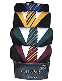 c6dbd44b14 Primark Harry Potter House Uniform Socks | 4 Pack | Gryffindor Ravenclaw…