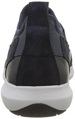 Geox Herren U Traccia A Sneaker Blau (Navy)