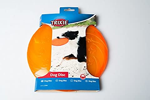 Trixie 33506 Dog Disc - thermoplastisches Gummi (TPR) Hundefrisbee Frisbee Hund
