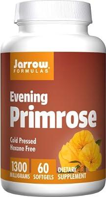 Jarrow Evening Primrose Oil (Cold Pressed, 1300mg, 60 Softgels) from Jarrow FORMULAS