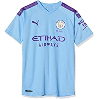 PUMA MCFC Home Shirt Replica Jr Top1 Player - Maillot Unisex niños