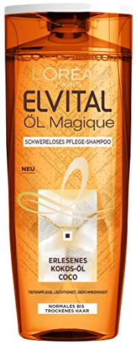 L'Oréal Paris Elvital Öl Magique Coco Shampoo, 3er Pack (3 x 300 ml)