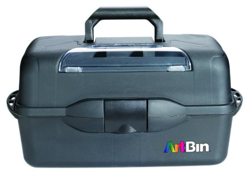 Unbekannt ArtBin X-Large 3Tablett Art Supply Aufbewahrungsbox-Schwarz, 8237ab -