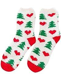Sylar Navidad Ropa Calcetines Mujer Termicos Invierno Impresión Moda Lindo Doodle Populares Grueso Calcetines Cálido Suave