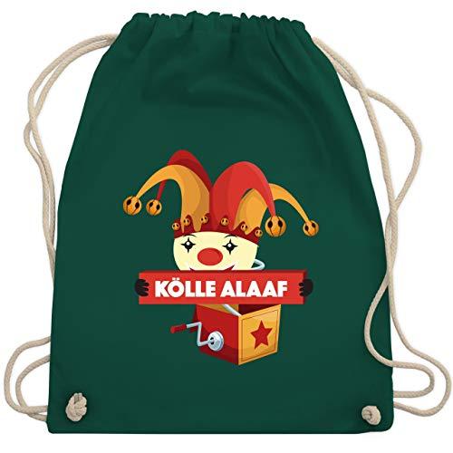 Karneval & Fasching - Kölle Alaaf Jack in the box - Unisize - Dunkelgrün - WM110 - Turnbeutel & Gym Bag