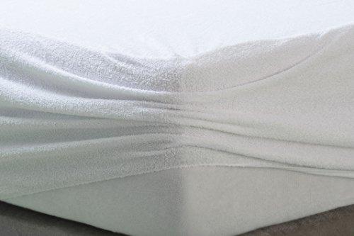 confronta il prezzo Savel, Proteggi Materasso Antiacaro impermeabile e transpirante. 100% Cotone. Matrimoniale (160x200cm) miglior prezzo