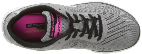 Skechers Flex AppealLove Your Style, Scarpe Sportive-Outdoor Donna Grigio (Grau (LGBK))