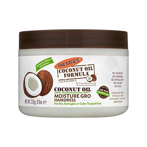 Palmers Coconut (Palmers Palmer's Coconut Oil Formula Moisture Gro Shining Hairdress 250g)