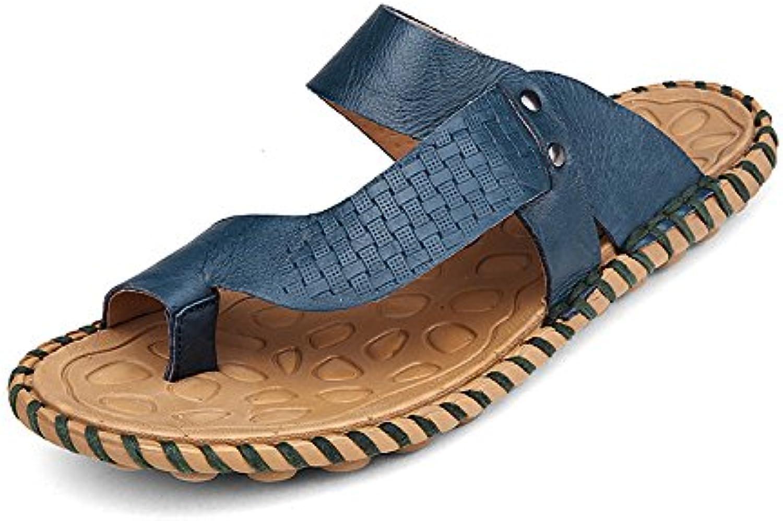 Xing Lin Herren Sandalen Sandalen Männer Sommer Neu Badeschuhe Atmungsaktivem Leder Sandalen Und Hausschuhe Jugend