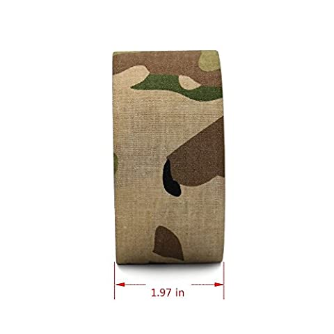 Lenhart Chasse le camping Camouflage Stealth Duct Tape Fusil Pistolet Wrap/Realtree Camo Duck Tape, 5,1 cm X 9,1 m, CP Camo
