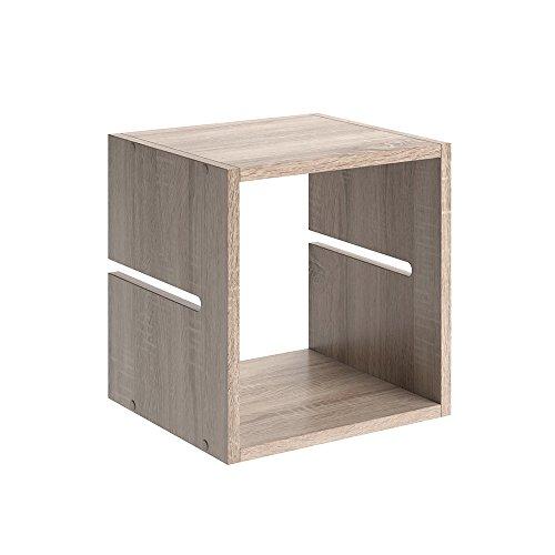 VICCO Trennsteg LUDUS SET Raumteiler Zubehör Bücherregal Standregal Aktenregal 2 Schubladen passend zu all unseren Raumteilern (Sonoma Eiche, Einzeln) (Bücherregal Schubladen 2)