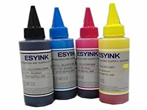 Esyink CISS Inkjet Printer Ink Tank 4 Colors for Canon 237/287/2770