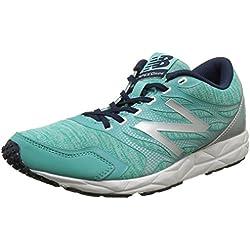 New Balance 590, Zapatillas de Running, Mujer, Multicolor (Green/Silver 316), 39 EU