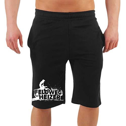 FELDWEGHEIZER Männer und Herren Kurze Hose Shorts Marke Größe M - 10XL
