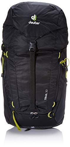 Deuter Unisex-Adult Trail 30 Rucksack, Black-Graphite, 62 x 32 x 20 cm, 30 L