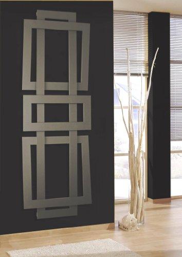 SZ METALL Badheizkörper Art 2 180 cm, silberfarben