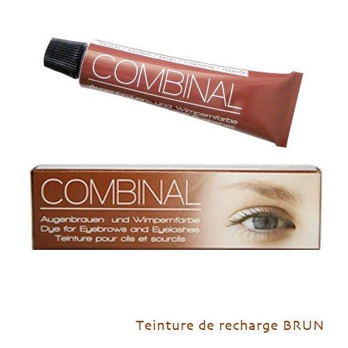 combinal teinture pour cils et sourcils noir 15 ml amazonfr beaut et parfum - Coloration Sourcils Maison