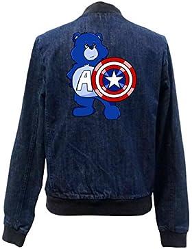 Captain Bear Bomber Chaqueta Girls Jeans Certified Freak
