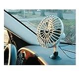 Nerd Clear PKW 12V Ventilator Klimaanlage für Ihr Auto mit Saugnapf Kühler Raum-Lüfter Luft-Erfrischer Lüftung