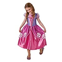 Sofia Kids Fancy Dress TV Sofia the First Girls Pink Princess Costume Outfit New