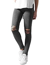 Urban Classics TB1276 Damen Ladies Cutted Knee Leggings