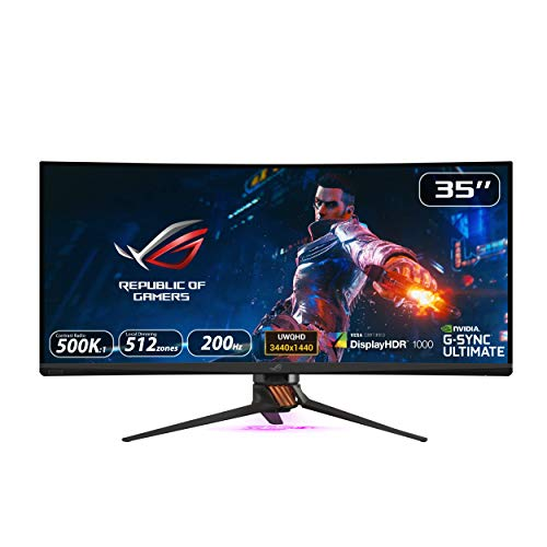 ASUS 88,9cm ROG Gam.PG35VQ Curved Led Local Dimming