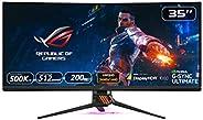 Asus ROG Swift PG35VQ - Monitor curvo Gaming de 35'' WQHD (3440 x 1440, 240 Hz, 4 ms, 16:9, HDR, 21:9,