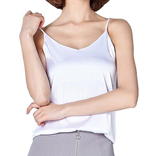 Damen-nachtwäsche 2019 Sommer Beiläufige Weste Schlaf Hemd Für Frauen Modal Camis Tops Sexy Strap Hemd Nachthemd Dame Solide Dessous Hause Tragen BüGeln Nicht