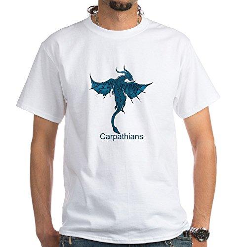 CafePress Blue CARPATHIAN - 100% Cotton T-Shirt