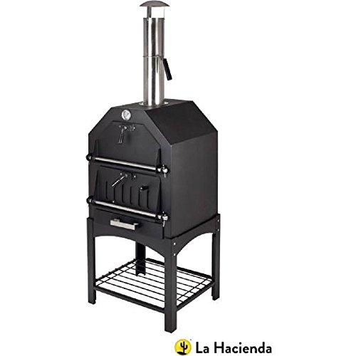 La Hacienda Multi-Function Outdoor Steel Pizza Garden Oven