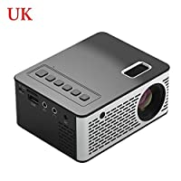 achievr Video Projector, Mini Portable Projector Pocket Size DLP Video Projector for Home/Travel Entertainment Support HD 1080P Cinema Theater Projector