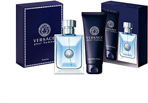 Versace Signature By Gianni Versace For Men Edt Spray 3.4 Oz & Hair And Body Shampoo 3.4 Oz (Travel Offer) by Versace