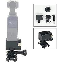 Flycoo CNC Soporte de Aluminio Adaptador para dji Osmo Cámara de Bolsillo Conector para trípode Monopod Selfie Stick Mount Accesorios de Soporte