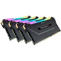 ذاكرة جهاز كمبيوتر مكتبي دي دي ار 4 3600 (بي سي-28800) C18 من كروسير فينجيانس بالفضاء اللوني ار جي بي برو بسعة 32 جيجابايت (4x8 جيجابايت) - بلون أسود  32 Gb CMW32GX4M4D3600C18