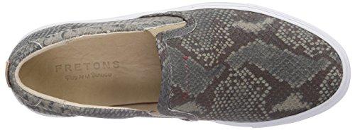 Fretons by Fred de la Bretoniere Fretons Women Shoe Step In Side Elastic Shoe Sole Serena, Baskets Basses femme Gris - Gris