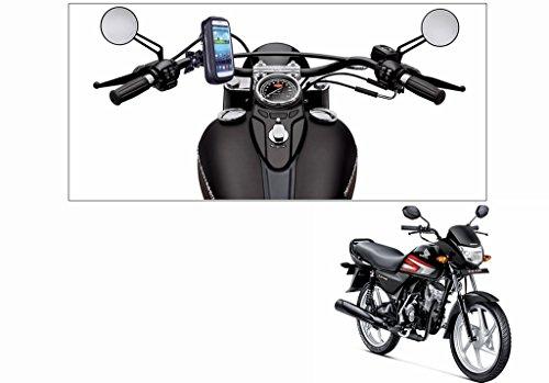 Speedwav Waterproof Bike Mobile Phone Holder Case upto 5.5 Inch Screen-Honda CD 110 Dream