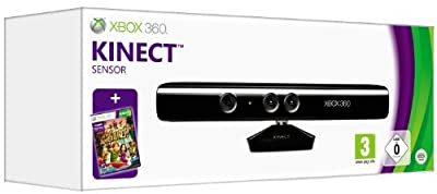 Official Xbox 360 Kinect Sensor with Kinect Adventures (Xbox 360) from Microsoft