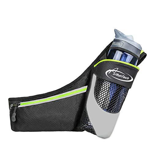 AiRunTech Verbessert Gürteltasche Sport Wasserdichte Bauchtasche für Trinkflasche Handy iPhone 7/6s/6Plus Laufen Joggen Reisen Outdoor Trinkgürtel Hüfttasche Damen Herren