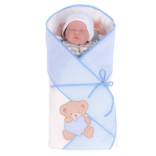 Sevira Kids Baby Schlafsack Pucksack, Teddy