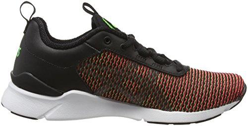 Asics Gel-Lyte Runner, Chaussures de Running Compétition Mixte Adulte Vert (Gecko Green/Guava)