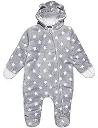 BLUE SEVEN Baby Plüsch Overall 485006X