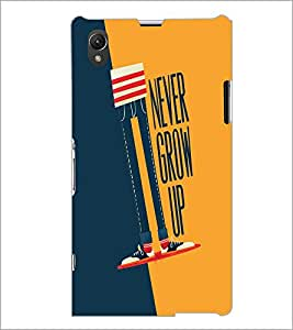 PrintDhaba Quote D-4536 Back Case Cover for SONY XPERIA Z1 (Multi-Coloured)